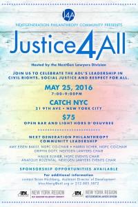 Justice 4 All evite spring colors v2